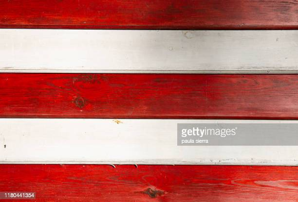 red and white stripes - white stripes stock pictures, royalty-free photos & images