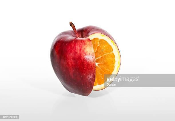 レッドアップルオレンジ