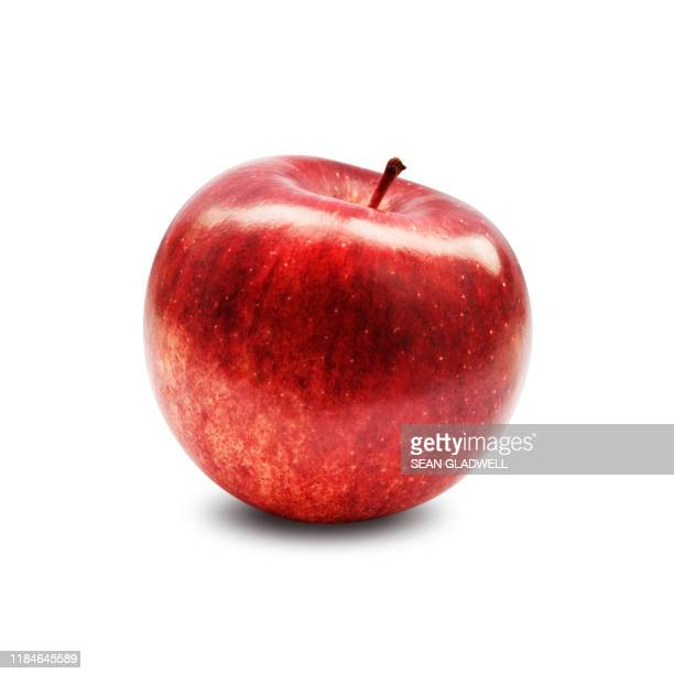 red apple - りんご ストックフォトと画像