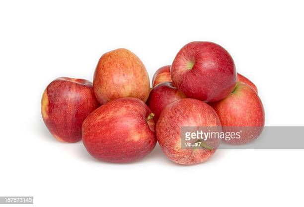 red apples - heap stock pictures, royalty-free photos & images