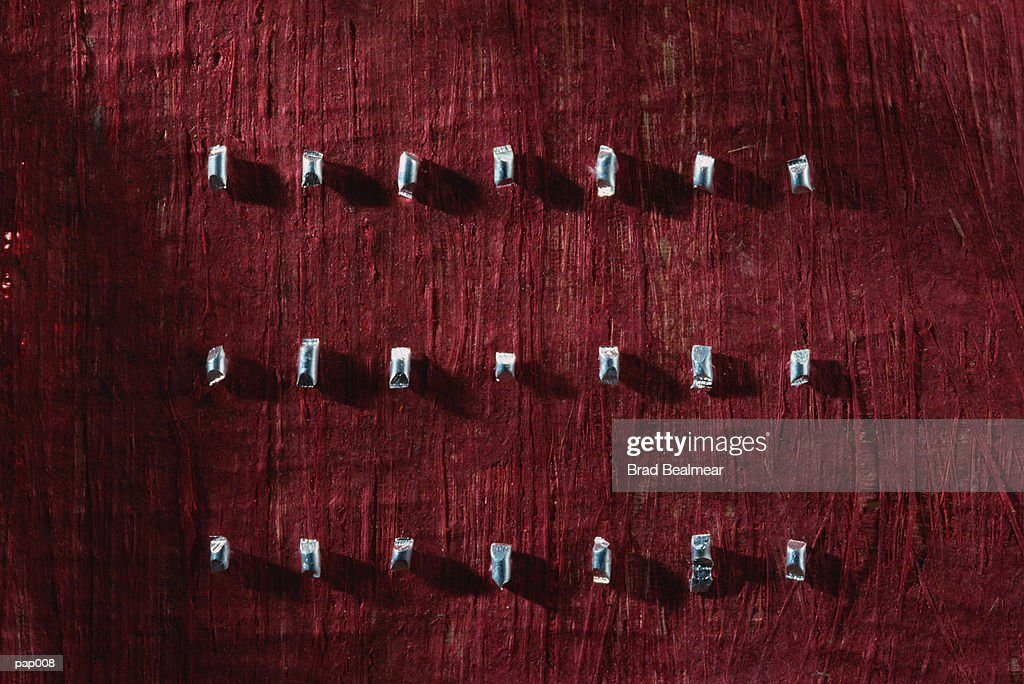 Red Background with Whistles : Stockfoto