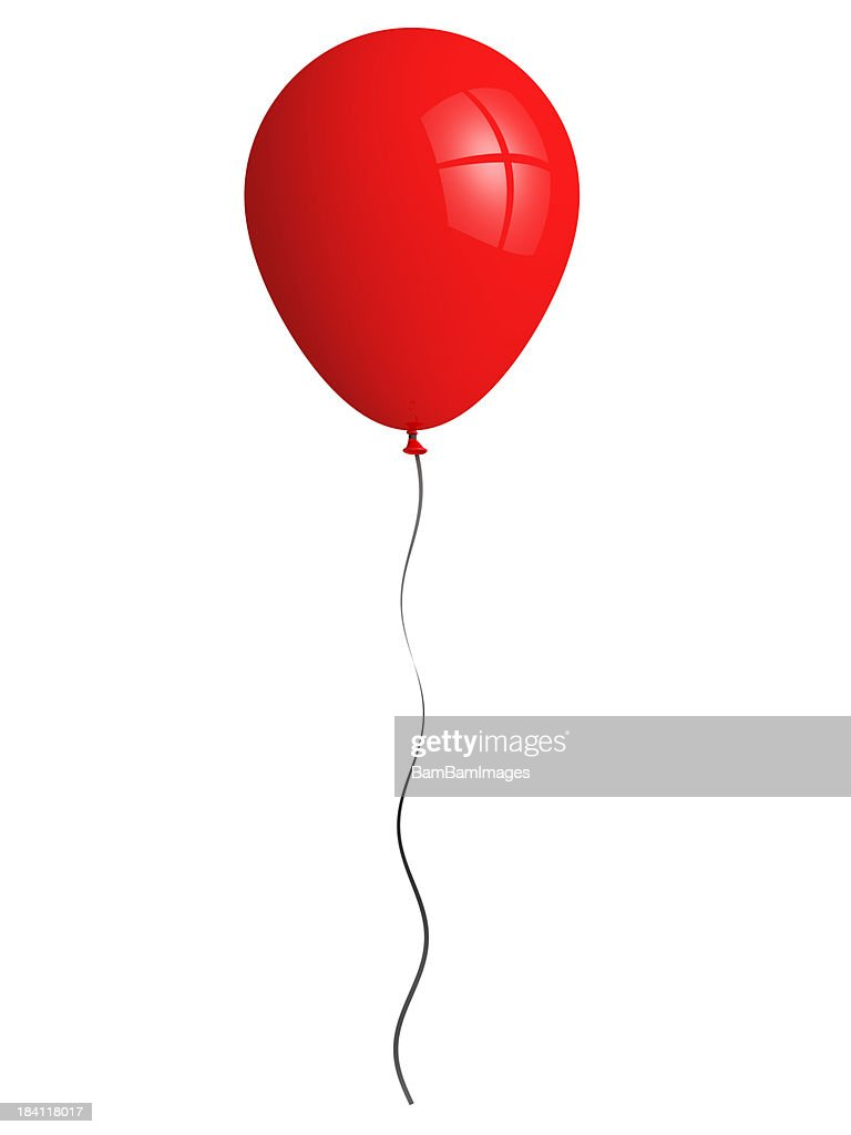 Red balloon : Stock Photo