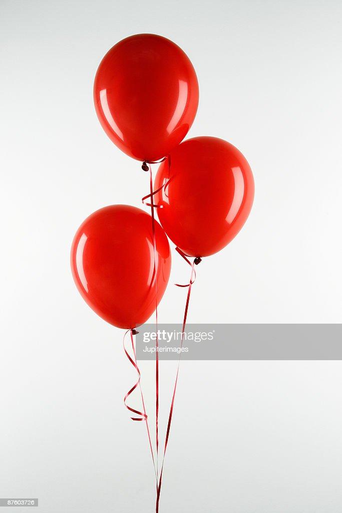 Red balloons : ストックフォト