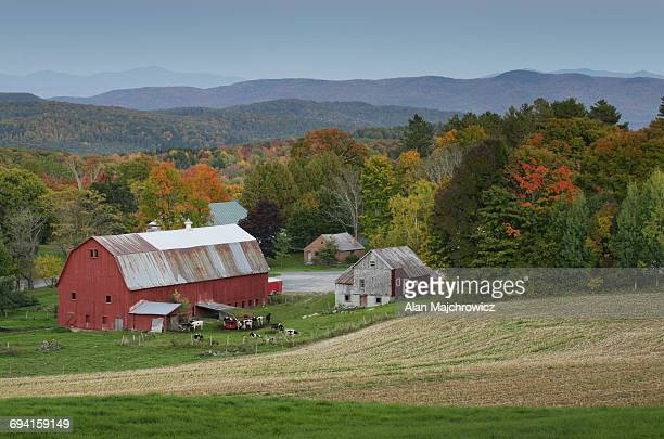 Red barn, Peacham, Vermont
