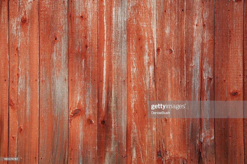 Red Barn Siding : Stock Photo