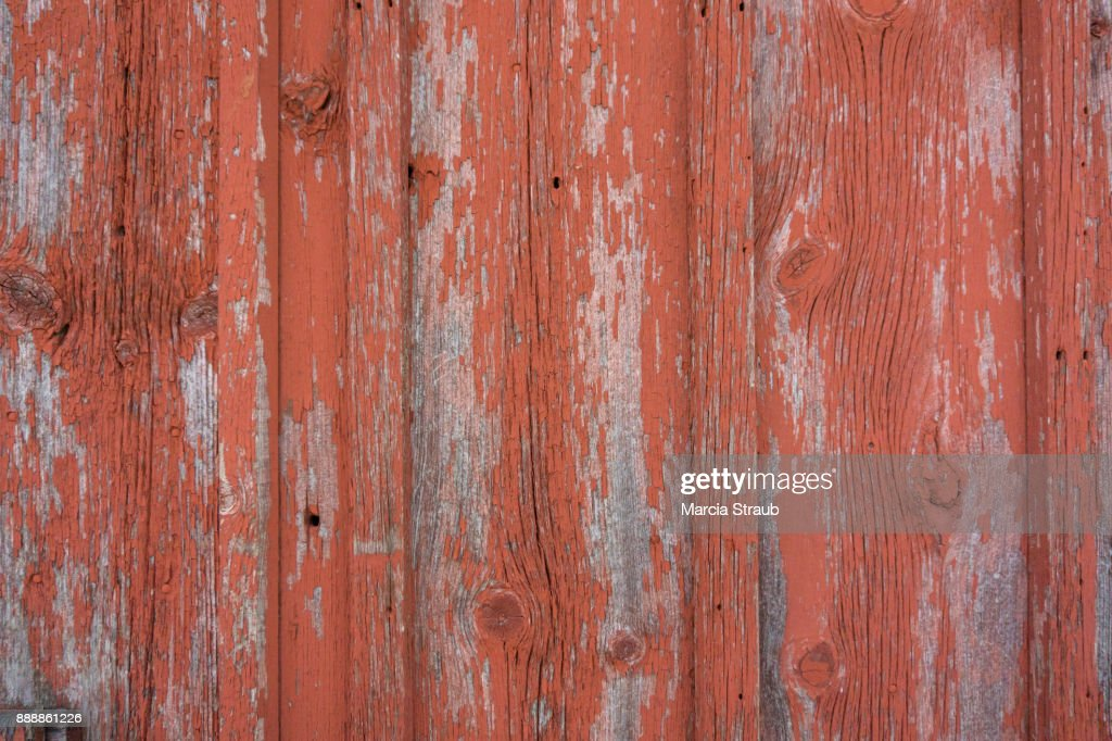 Red Barn Wood Background : Stock Photo