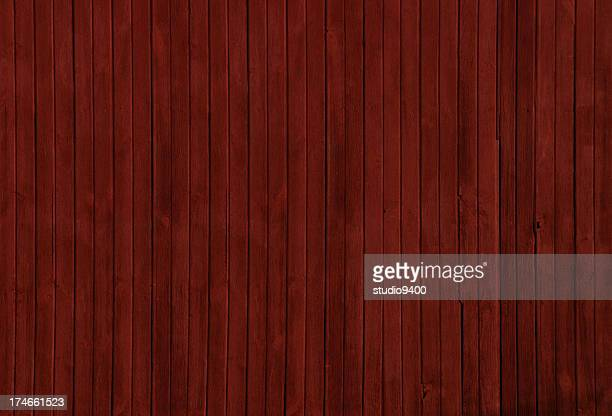 Red barn wooden siding