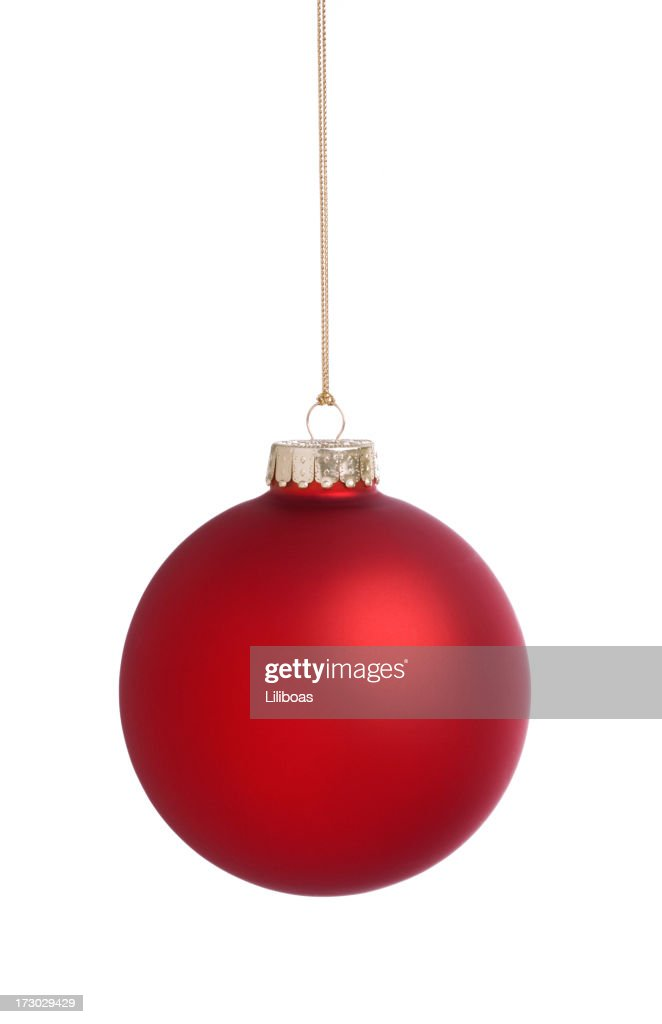 Red Bauble (XXL) : Stock Photo