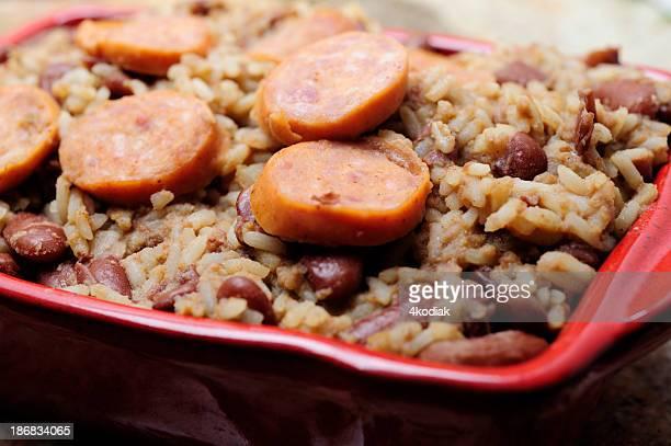小豆とライス