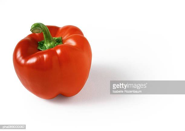 Red bell pepper, close-up