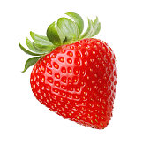 Red berry strawberry isolated