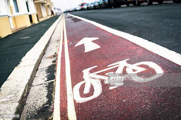 Rouge piste cyclable