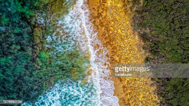 red bluff from the air - lush stock pictures, royalty-free photos & images
