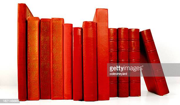 Red Books With no Lables