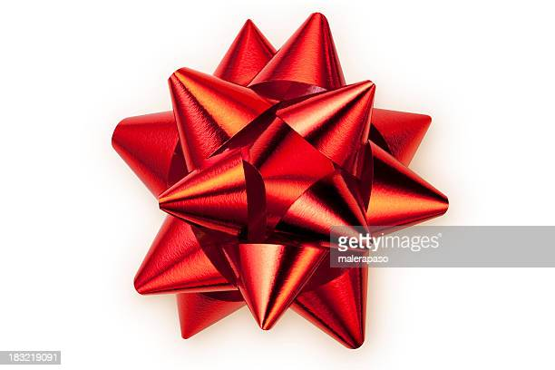 red bow - tied bow stock pictures, royalty-free photos & images