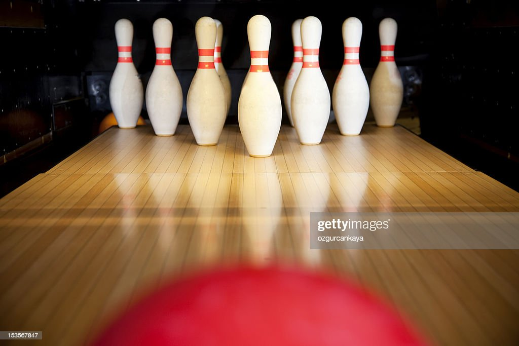 bowling pin stock photos and pictures getty images
