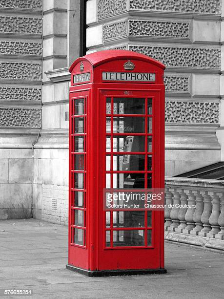 red box telephone - isolated color stock pictures, royalty-free photos & images