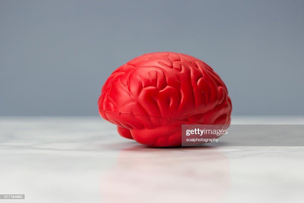 Red brain : Stock Photo