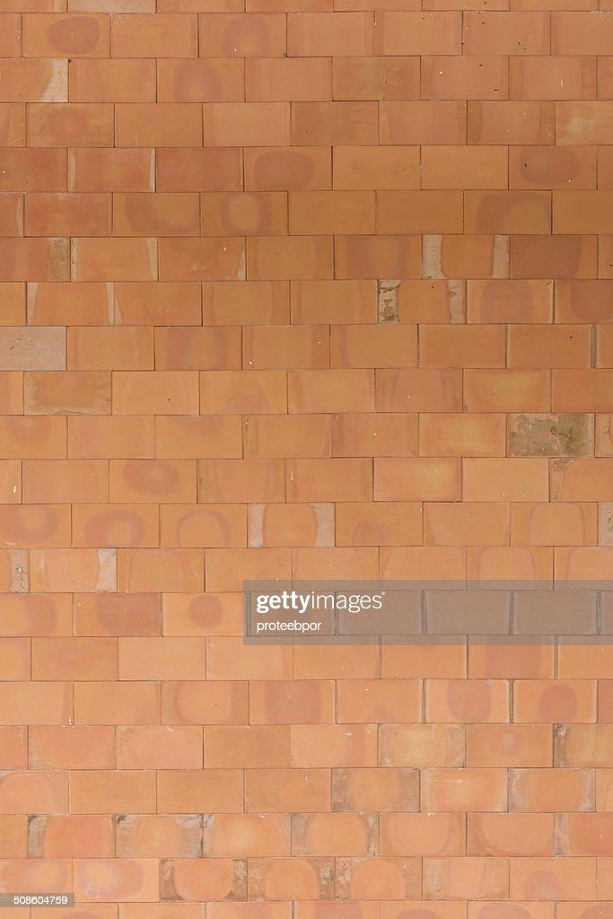 Ladrillo rojo textura : Foto de stock