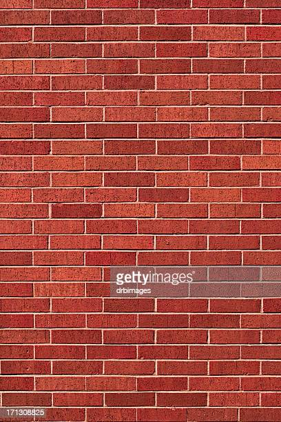 Red Brick Wall Background - XXXL Photo