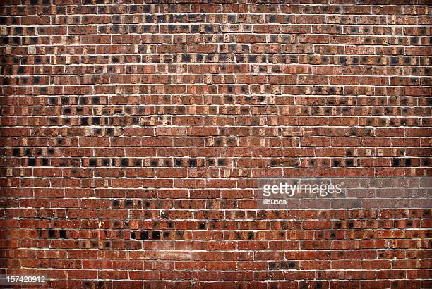 Rote Backstein Wand Textur