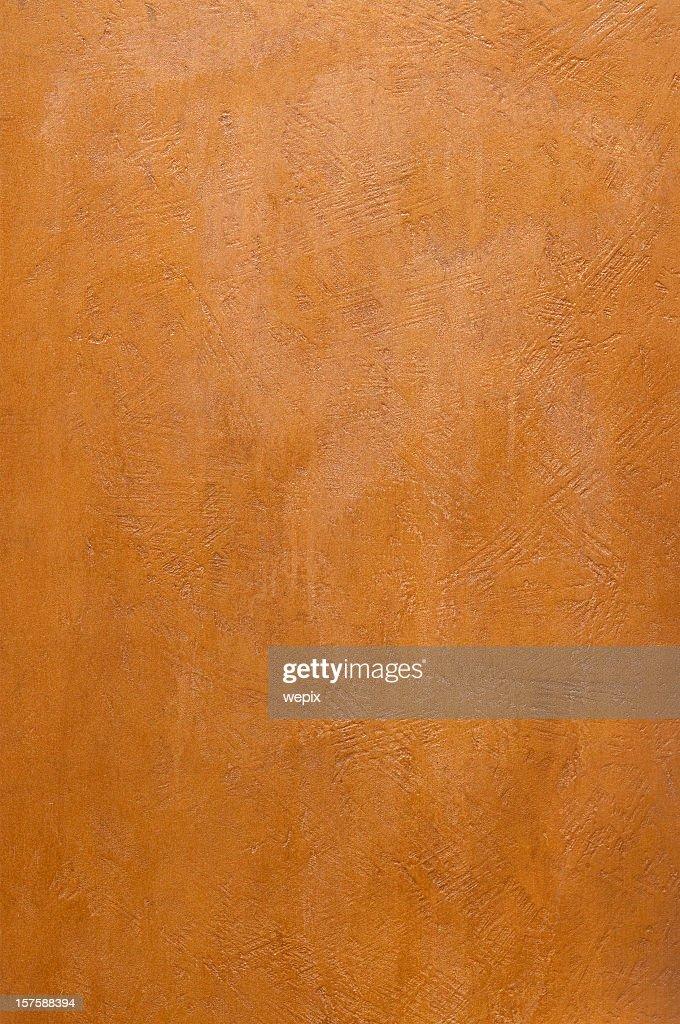 赤茶色のブロンズのメタルプレートのテクスチャード加工面フルフレーム : ストックフォト