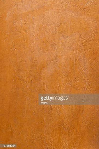 Red brown bronze metal plate textured surface full frame