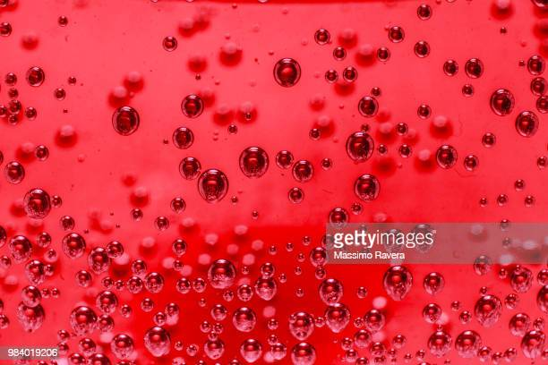 Red bubbles.