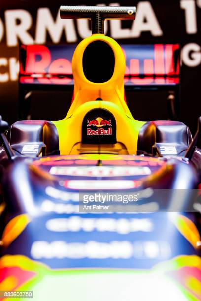 Red Bull Formula 1 car on display at the Essen Motor Show on December 1 2017 in Essen Germany The Essen Motor Show is celebrating its 50th edition in...