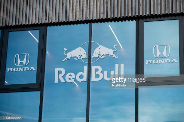 Red Bull Honda hospitality during the Formula 1 Winter Tests at Circuit de Barcelona - Catalunya on February 26, 2020 in Barcelona, Spain.