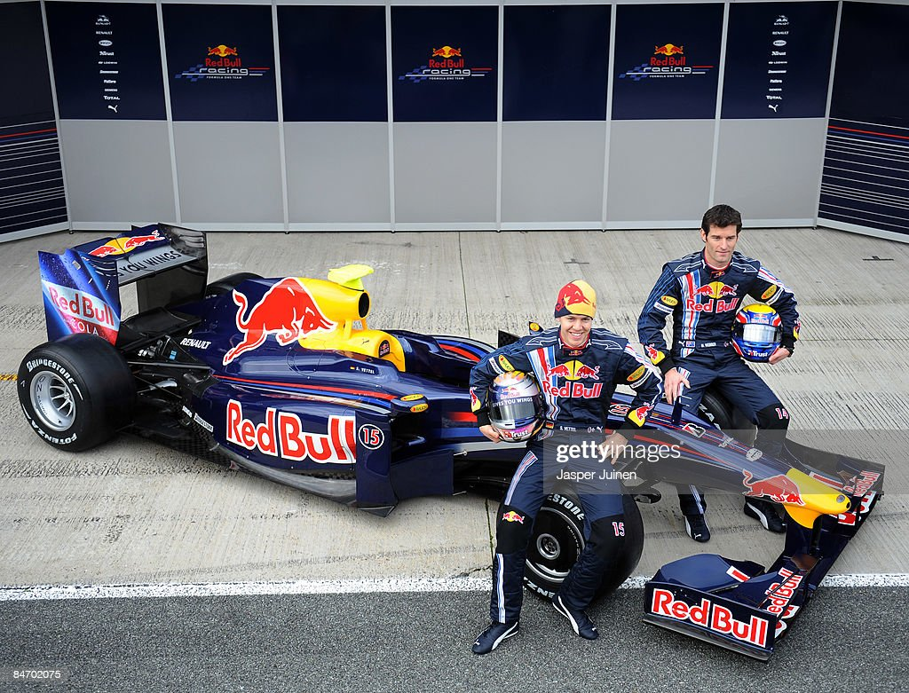 Red Bull 2009 F1 Launch : News Photo