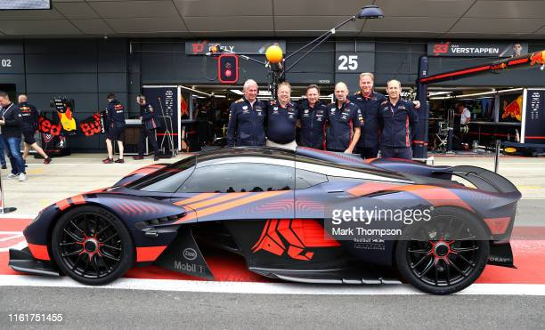 Red Bull Racing Team Consultant Dr Helmut Marko Andy Palmer President Chief Executive Officer Aston Martin Lagonda Ltd Red Bull Racing Team Principal...