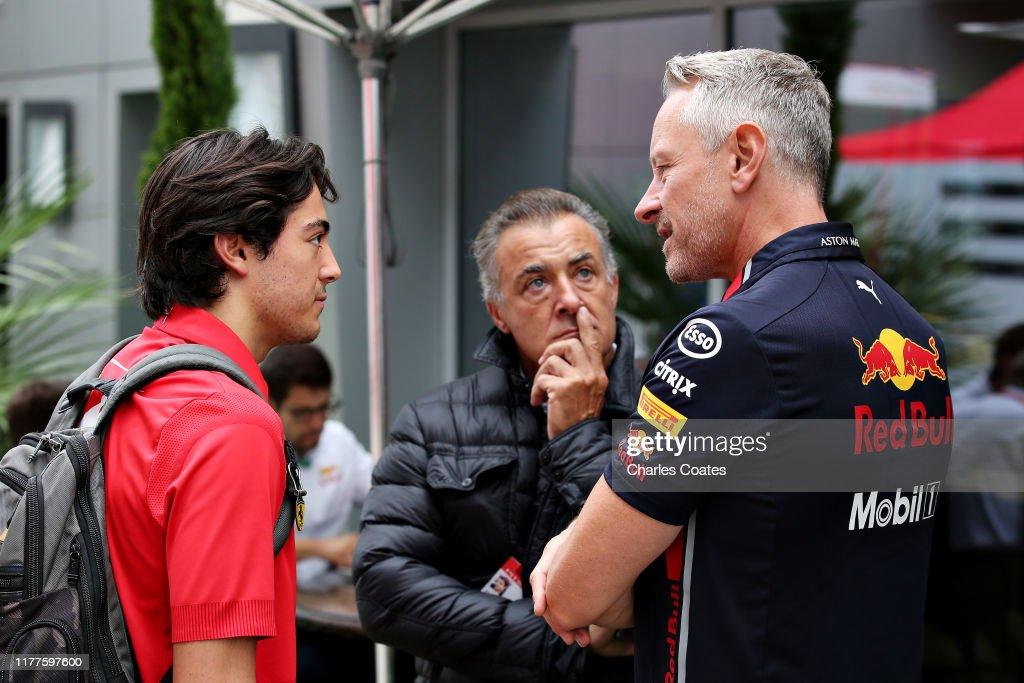 F1 Grand Prix of Russia - Final Practice : News Photo