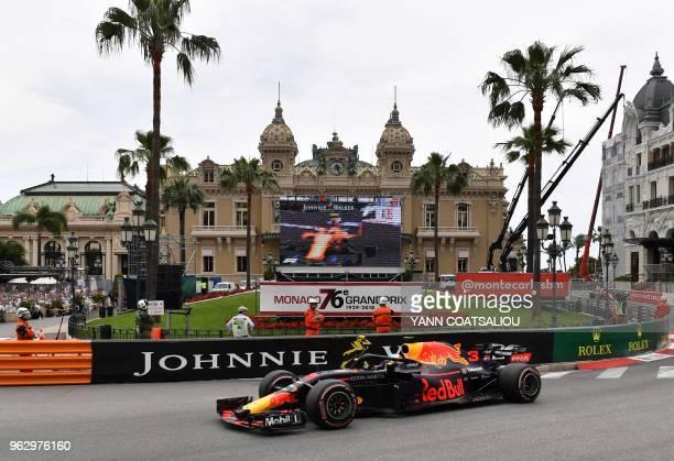 fef71a94bd1 Red Bull Racing s Australian driver Daniel Ricciardo competes to win the  Monaco Formula 1 Grand Prix
