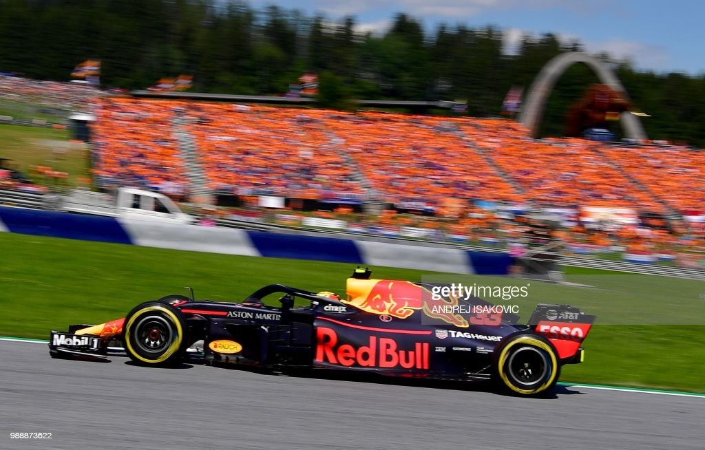 TOPSHOT-AUTO-F1-PRIX-AUSTRIA : News Photo