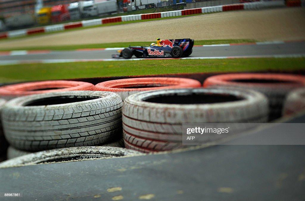 Red Bull's German driver Sebastian Vette : News Photo