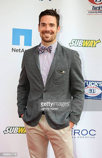 Red Bulls Heath Pearce attends the NY Giants Justin Tuck's 5th Annual Celebrity Billiards Tournament on May 30, 2013 in New York City.