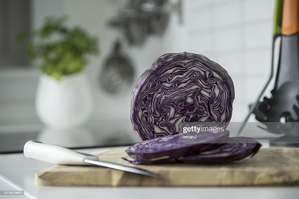 Red cabbage : Stockfoto
