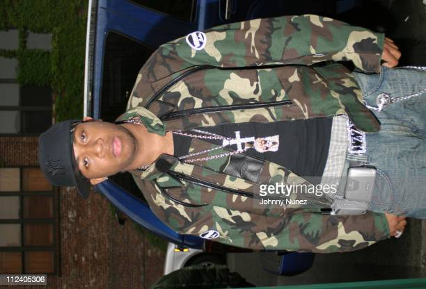 Red Cafe during Bone Crusher Remix Video Shoot Featuring Busta Rhymes Camron Juelz Santana and Jadakiss at Broadway Warehouse in New York City New...