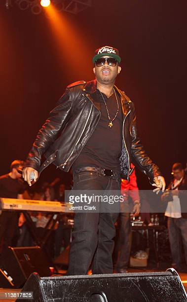Red Cafe performs at the Hammerstein Ballroom on May 5 2011 in New York City
