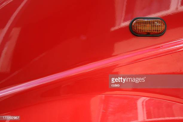 Rotes Auto-element