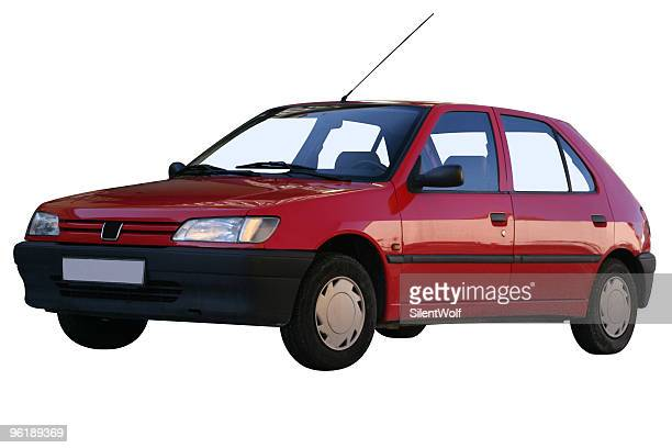 Red car (with clipping path)