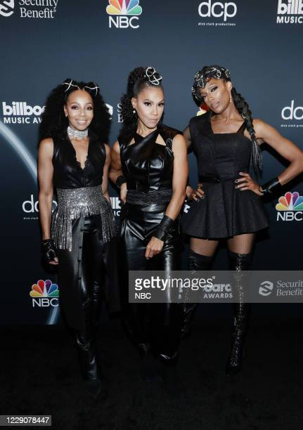 AWARDS Red Carpet 2020 BBMA at the Dolby Theater Los Angeles California Pictured In this image released on October 14 Terry Ellis Cindy Herron Rhona...