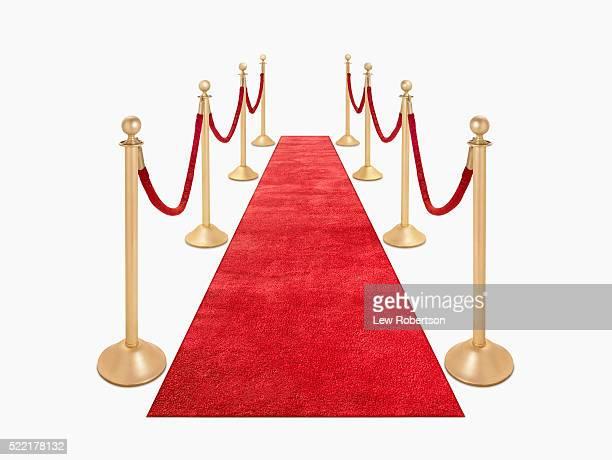 Red Carpet and Red Velvet Ropes
