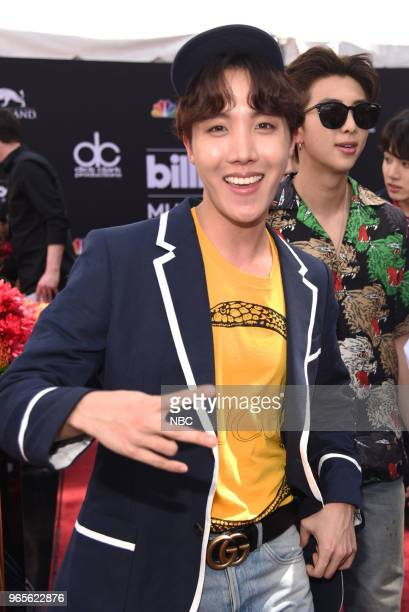 AWARDS Red Carpet Arrivals 2018 BBMA's at the MGM Grand Las Vegas Nevada Pictured J Hope 'BTS'