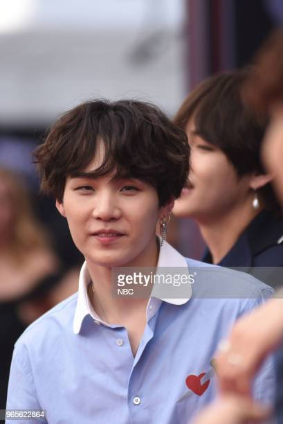 AWARDS Red Carpet Arrivals 2018 BBMA's at the MGM Grand Las Vegas Nevada Pictured Member of 'BTS'