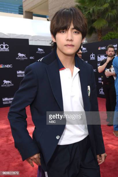AWARDS Red Carpet Arrivals 2018 BBMA's at the MGM Grand Las Vegas Nevada Pictured Members of 'BTS'