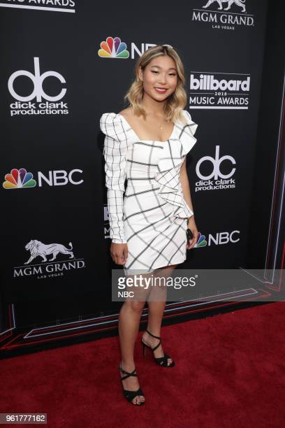 AWARDS Red Carpet Arrivals 2018 BBMA's at the MGM Grand Las Vegas Nevada Pictured Chloe Kim