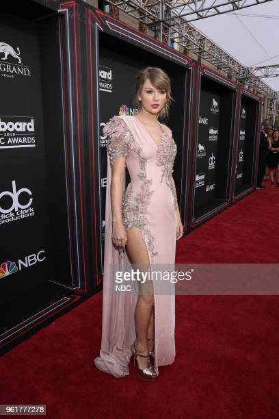 Red Carpet Arrivals -- 2018 BBMA's at the MGM Grand, Las Vegas, Nevada -- Pictured: Taylor Swift --