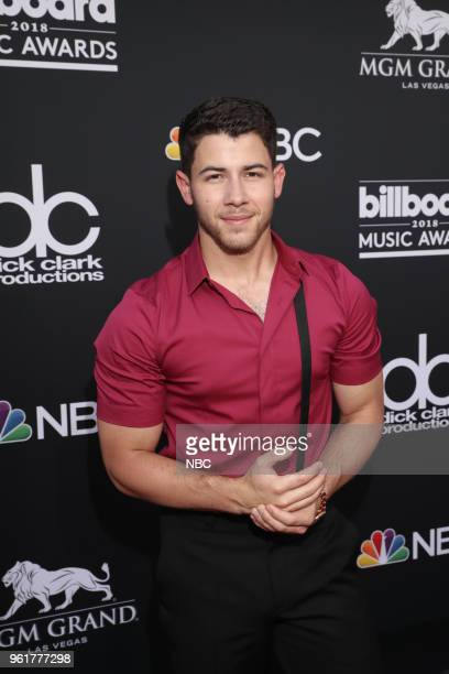 AWARDS Red Carpet Arrivals 2018 BBMA's at the MGM Grand Las Vegas Nevada Pictured Nick Jonas